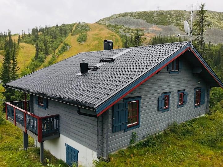 Stor stuga i Vemdalsskalet med ski in/ski out!