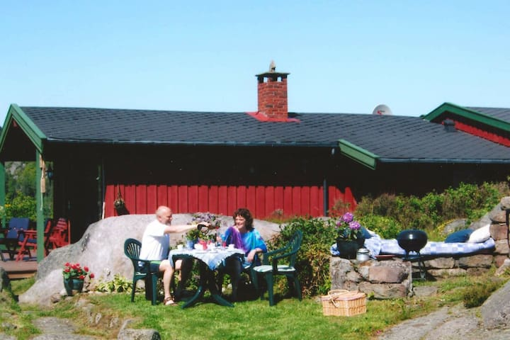 5 person holiday home in lyngdal