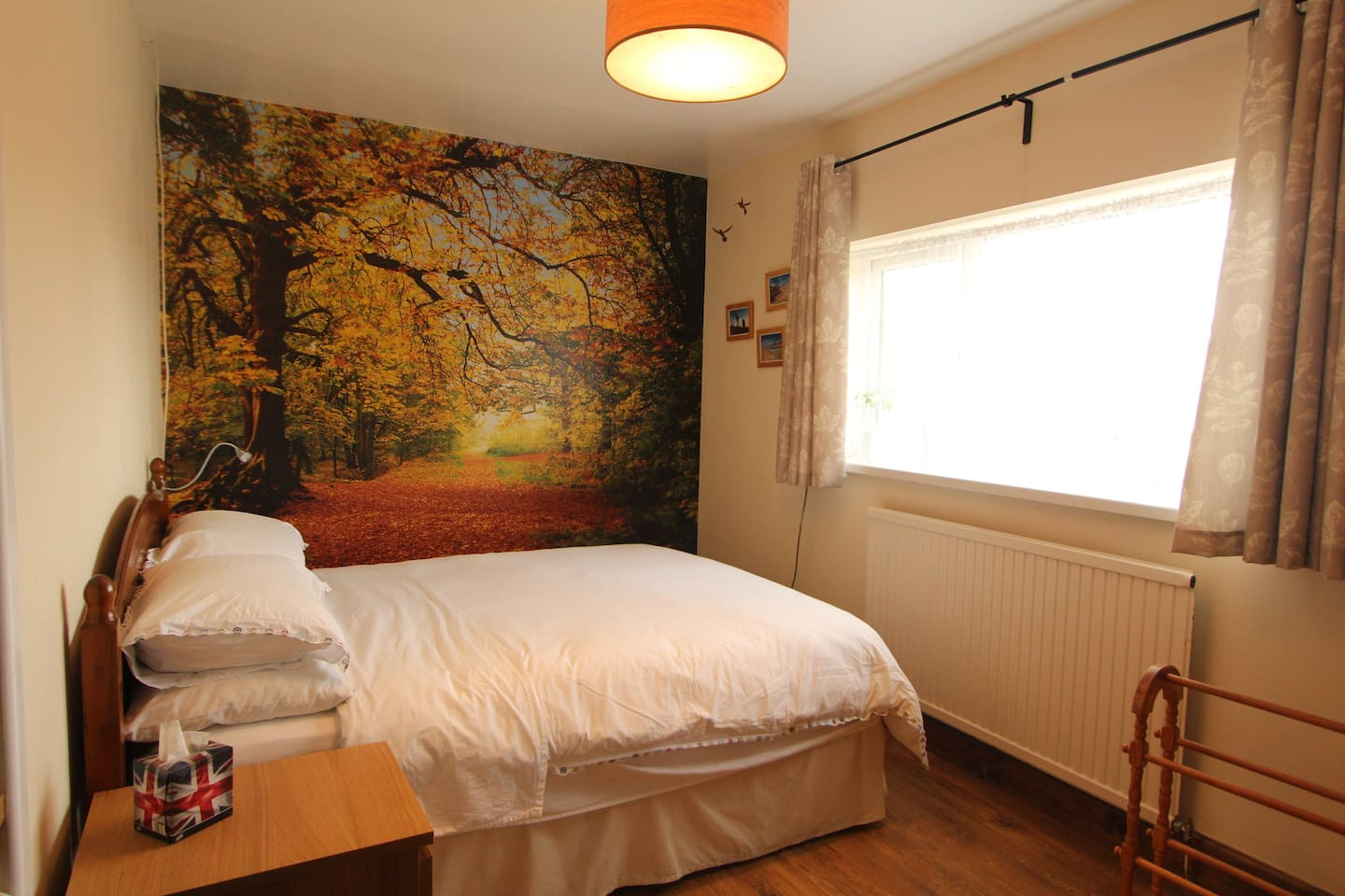This would be your room :)