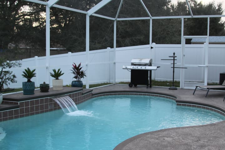 VIP Treatment at Spacious 4,000 sq. ft Pool Home - Riverview - Hus