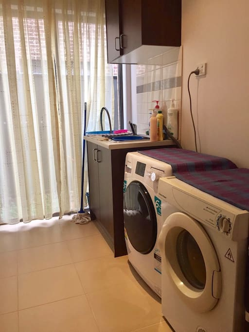 Laundry - washing machine and dryer