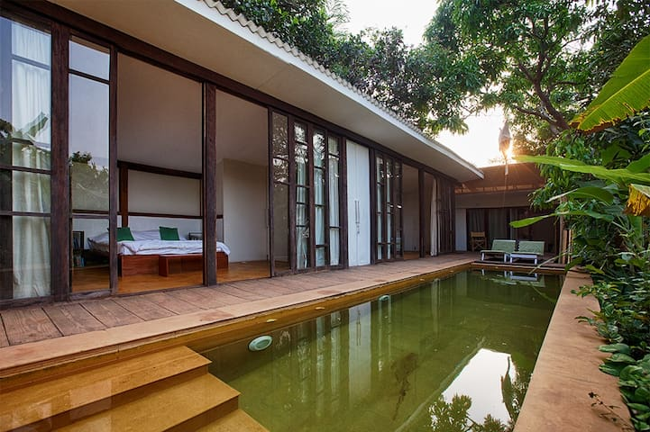 Eco bungalow for comfort stay at Ashwem Goa