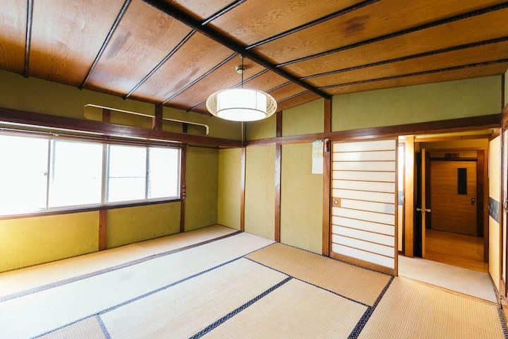 Kashiwaya Ryokan Mix Dormitory C