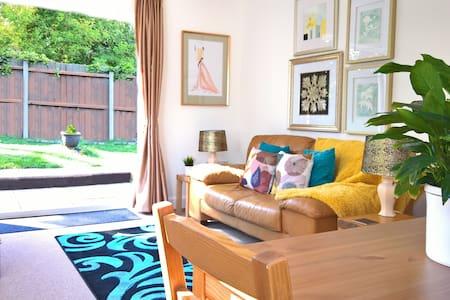 Ideal Location, Light & Spacious, Gated & Garden