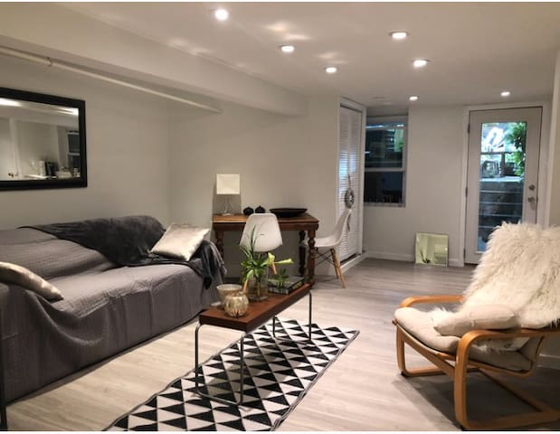 Modern Basement Apartment in Upper Georgetown