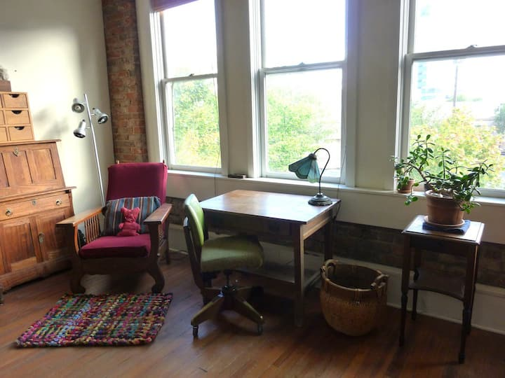 Beautiful Studio in Heart of Downtown