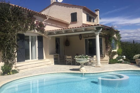Villa with stunning view over the Bay of Cannes!! - Mandelieu-la-Napoule - Villa