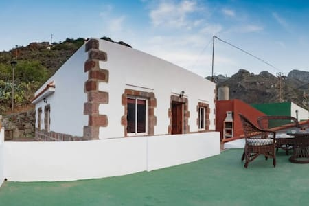 Casa Teresa:Refurbished Rustic House in Afur,Anaga