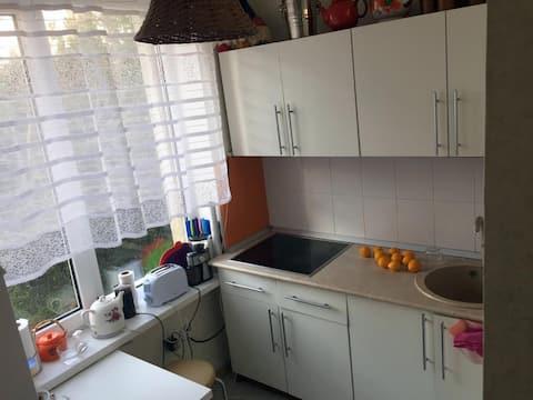 Отличная 2-комнатная квартира в Пицунде