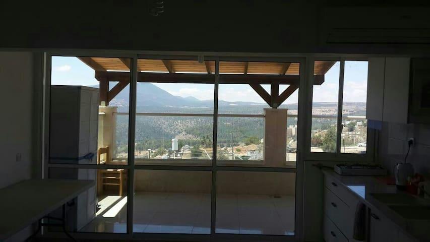 דירה בכינסה לעתיקה נוף להרי מירון - צפת