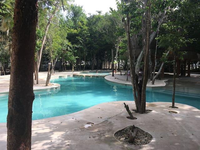 Habitación  en Riviera Maya 5 min  Playa