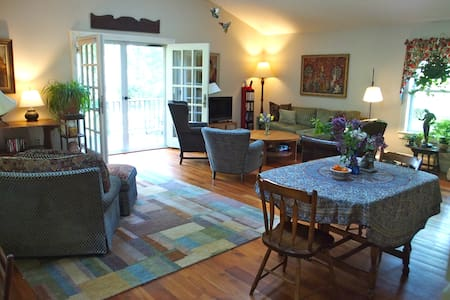 Beautiful apartment in a country setting - Great Barrington - Apartment