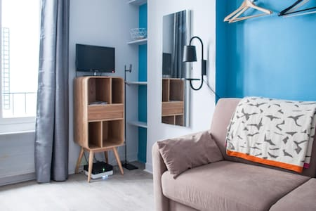 Courcelles Cosy/Quiet renovated