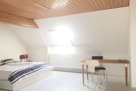 Rooftop room in city centre with private bathroom - Gent