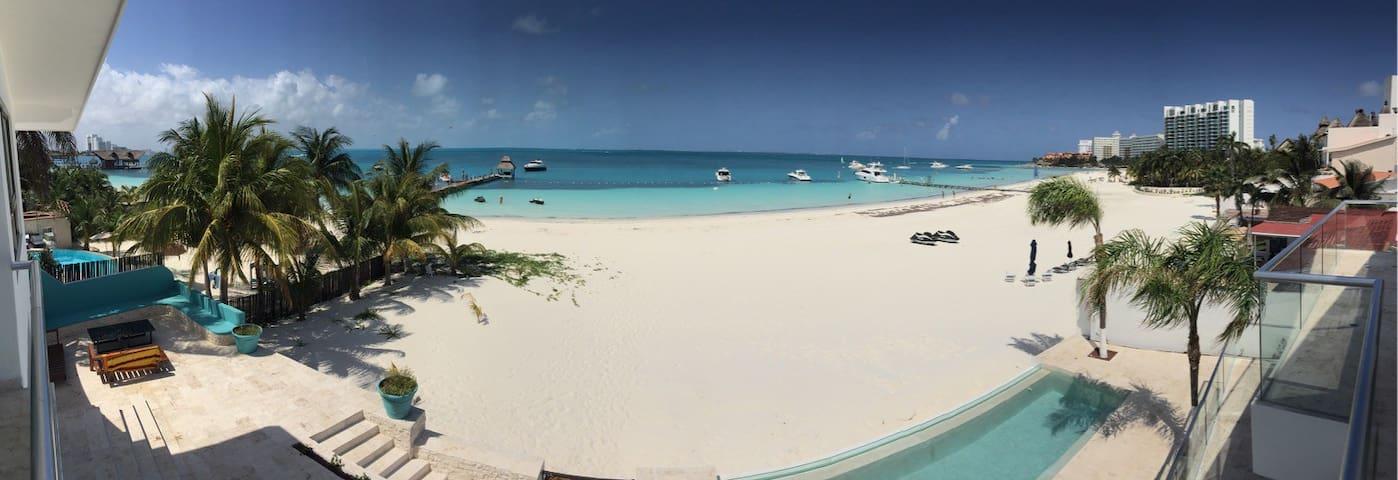 Villa Dzul Ha Best Location in Cancun NO SEAWEED