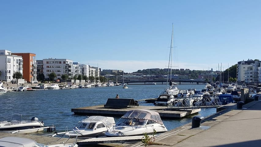 cozy 2 room apartment with seaview - Göteborg - Appartement