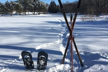 Lots of room to snow shoe or cross-country ski