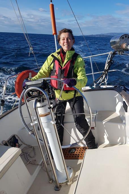 Lorraine can't get enough sailing