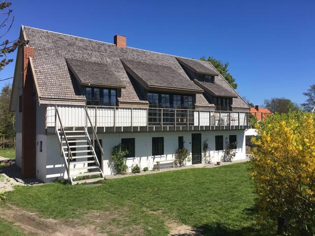 charmerende hus i fantastisk natur