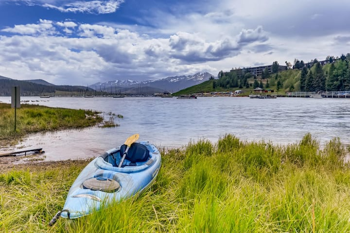 On Lake Dillon - Sweeping Mountain & Lake Views