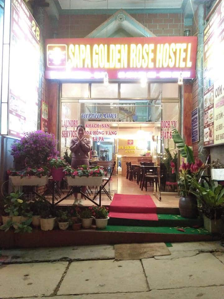 Sapa Golden Rose hostel