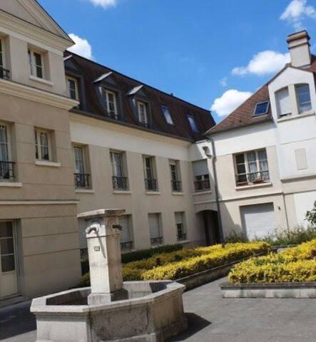 Parc de l'Abbaye Royale Charmant studio