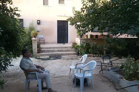 Izbet Tabib - A Palestinian village B&B - Tira - Haus