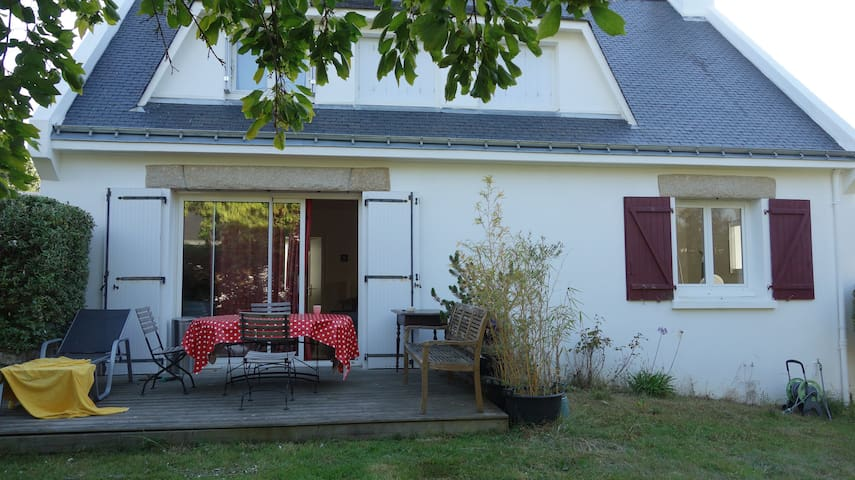 Zen house in Larmor-Plage near the sea - Larmor-Plage - Rumah