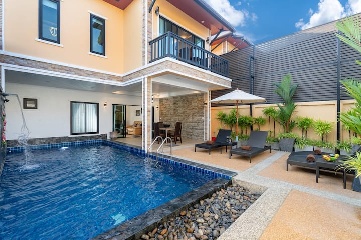 ✔Brand New✔Private Pool Villa✔Bangtao Beach(5mins)