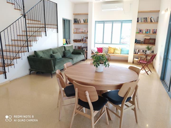 the Hirsch's cozy villa