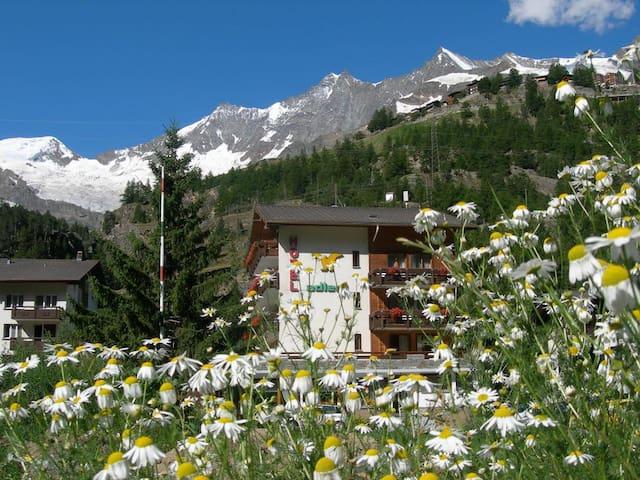 Sehr ruhig gelegenes Hotel in naturbelassener Lage