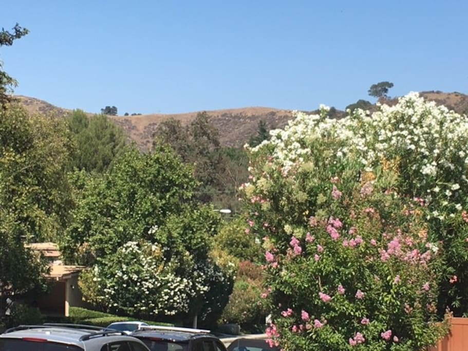 End Unit with Views of the Santa Monica Mountains