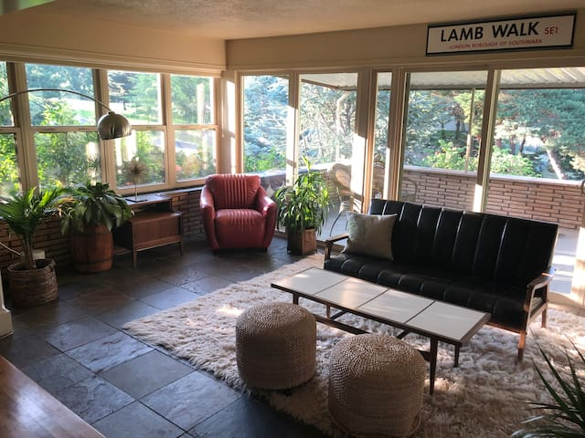 Highlands Foothills Mid-Century family Home