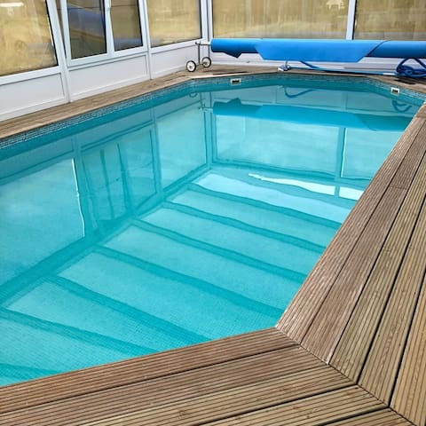 L'Oasis Ardennaise (heated pool)
