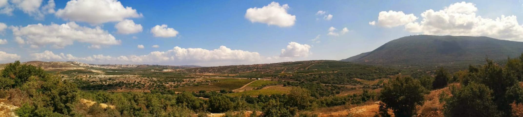 Robes- Meron View@Upper Galilee