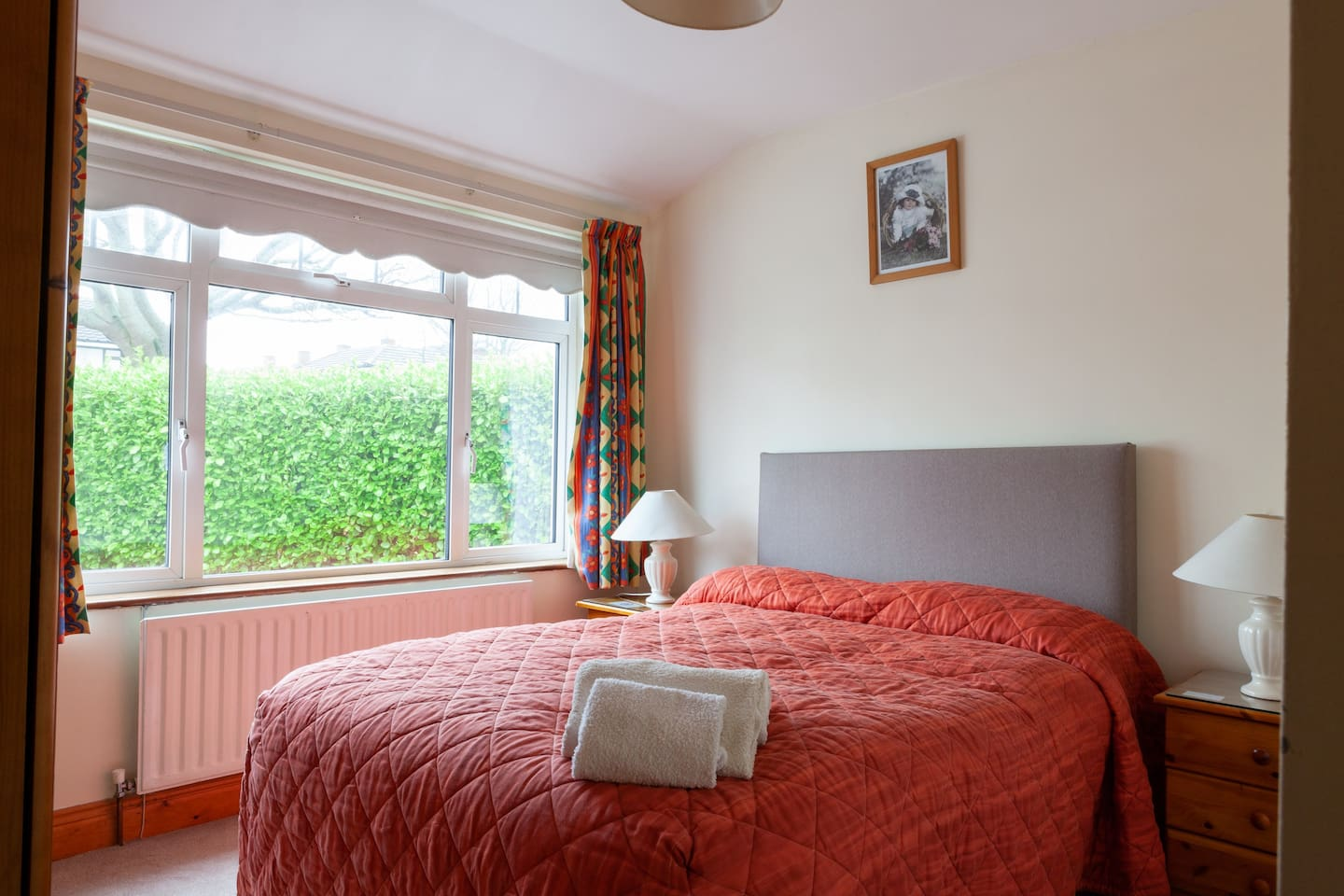 Double bedded Room - en-suite private bathroom. With Continental Breakfast Served each morning.