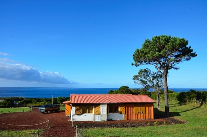 Wooden Nature House at Sea for 2- 8 People - S.Mateus
