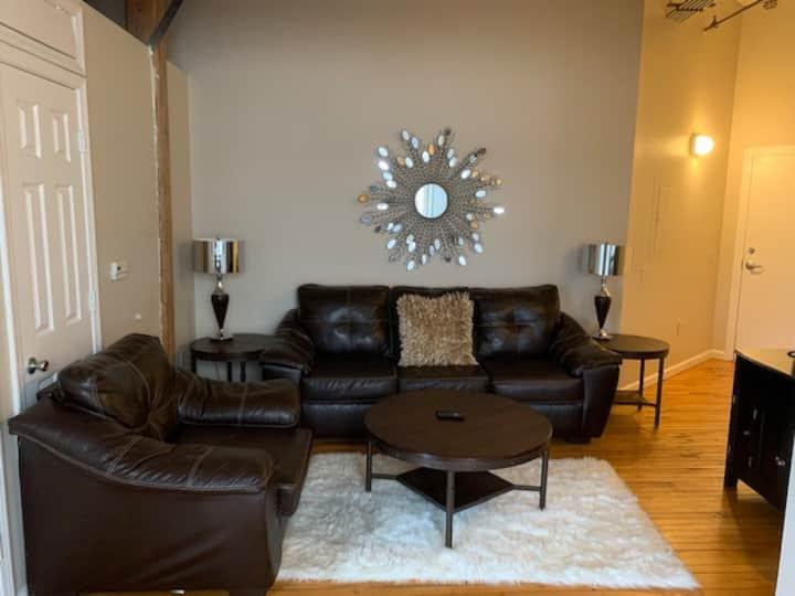 2 Bedroom Furnished Loft in Downtown Little Rock