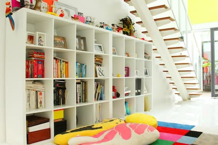 young and playful living space - Jakarta - Townhouse