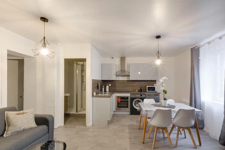 NOUVEAU - Appartement Cosy 32m² Proche gare + WIFI FIBRE
