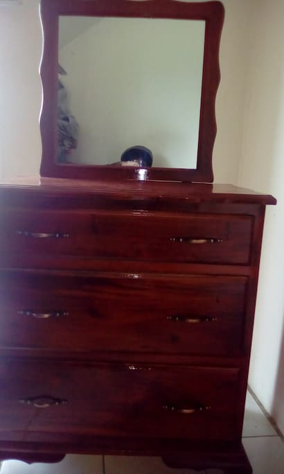 Hand-crafted bedroom dresser
