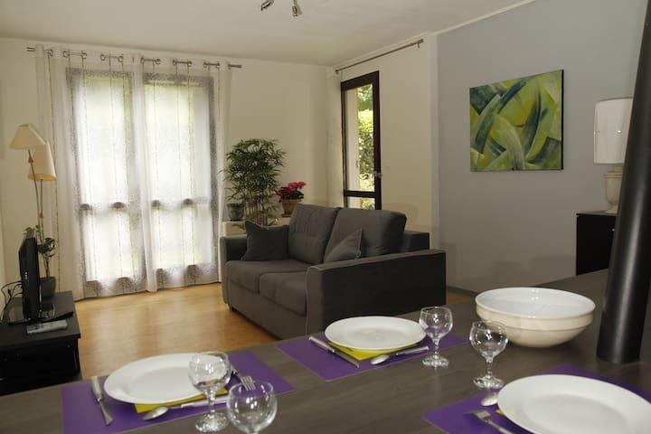 Appartement  3 pièces meublé centre d'Uriage . - Saint-Martin-d'Uriage - Apartamento
