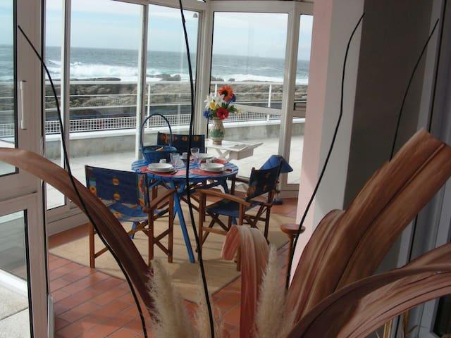 Déjeuner en front de mer ....