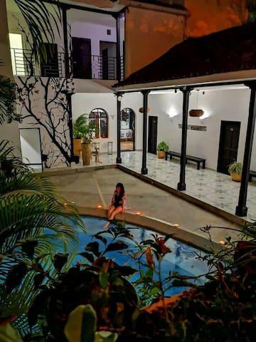 Capilla del sol Garzón   Hotel boutique low cost.