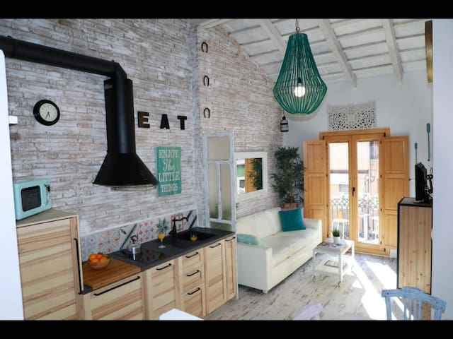 Cute studio near to the beach, Wifi - València - Loft