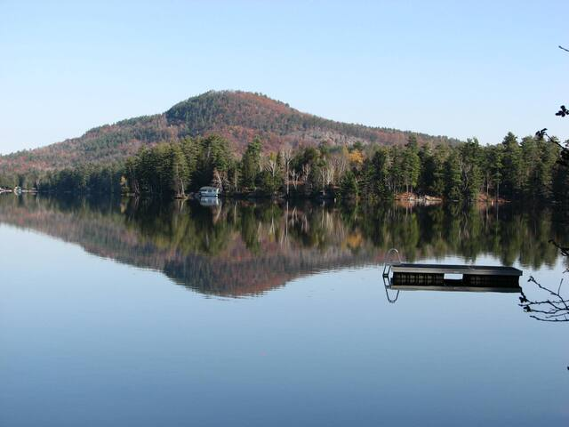 Loon Lake from private dock