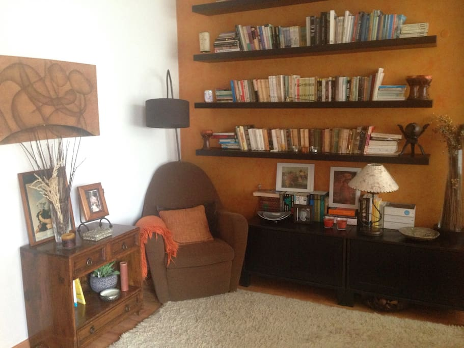 Reading space.