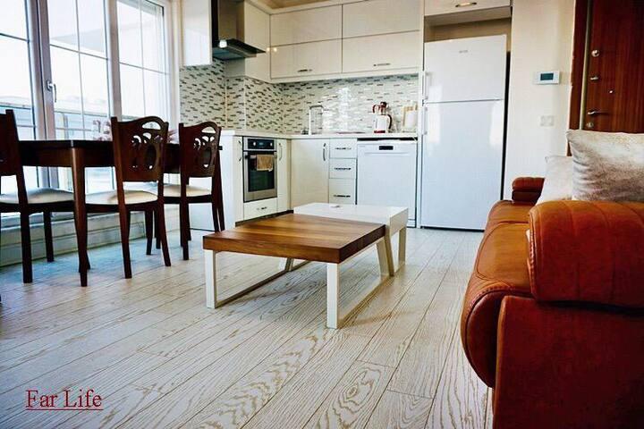 Antalya konyaaltı 2+1 daire