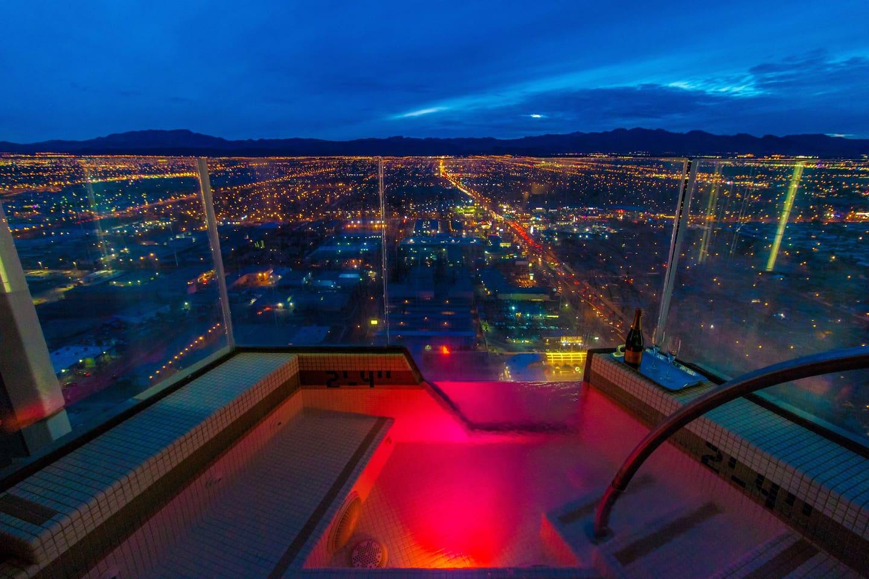 Luxury Penthouse Airbnb Rental atop a Las Vegas Hotel