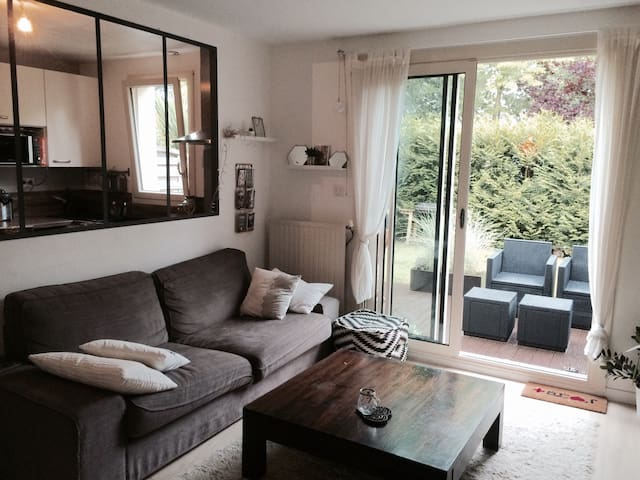 House-flat close to the river with garden - Nantes - Ortak mülk